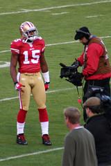 Camera on Football player