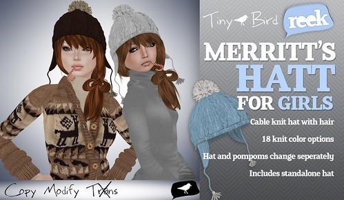 Reek - Merritt Hatt Girls Ad