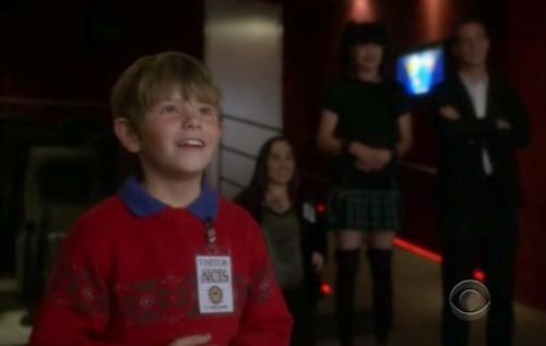 McGee as Father Christmas