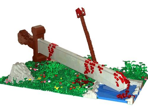 LEGO Dylan B fallen sword