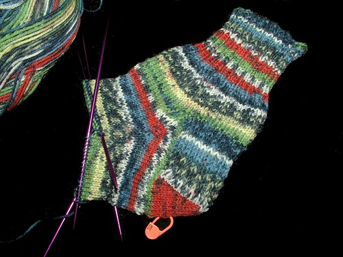 1/2 done with one sock