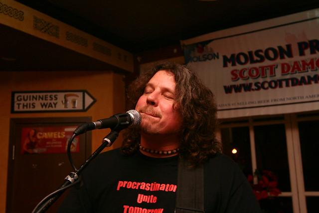 Scott Singing