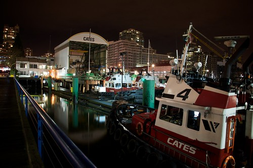 Lonsdale Quay @ Night