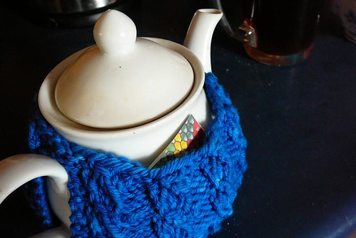 clue in a tea cozy