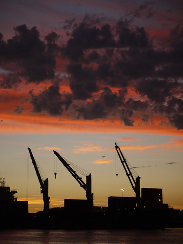 Fremantle Harbor Sunset 4