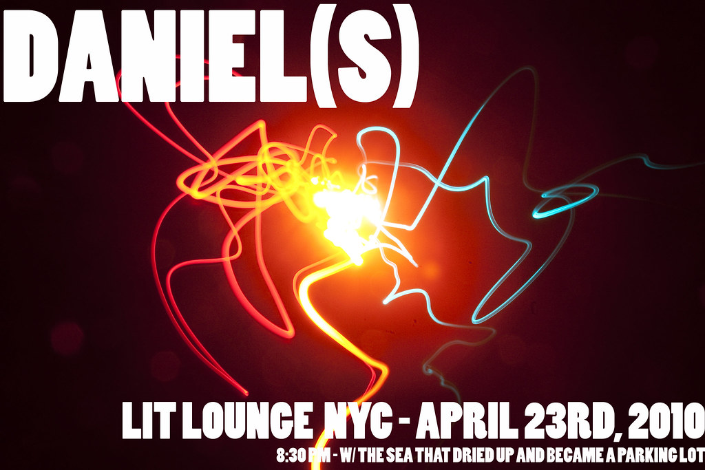 Daniel(s) at Lit Lounge in NYC - April 23rd