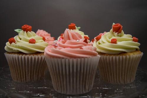 Cirencester Cupcakes - Ruby Wedding Anniversary Cupcakes