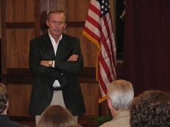 Grisham Speaks to Keenum Leadership Forum