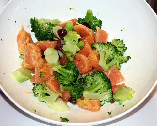 Broccoli Orange Salad