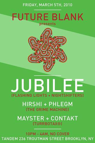 Mayster & Contakt @ Future Blank with Hirshi & Phlegm & Jubilee Tandem Brooklyn NY