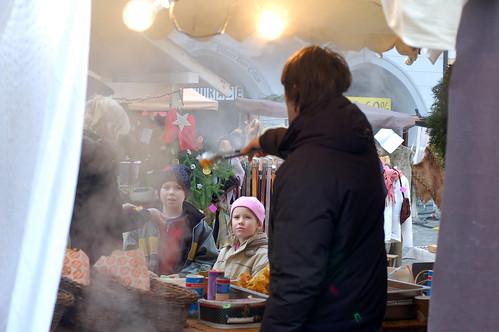 Cesky Krumlov Christmas market