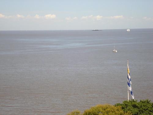O Prata com Buenos Aires ao fundo (Puerto Madero)