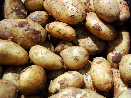 real potatoes