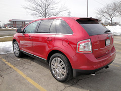 2010 Ford Edge - Left Rear