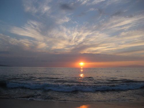 Sunset on Paipu Beach