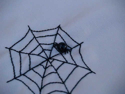 Spiderweb Ornament Step 2