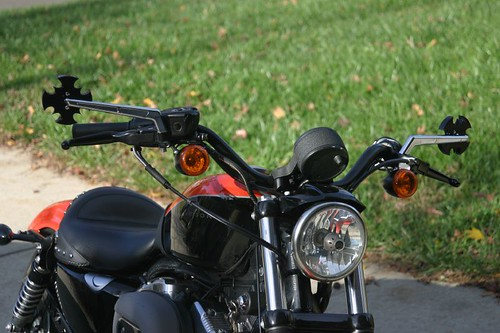 IAeromach Mirrors for Harley Nightster