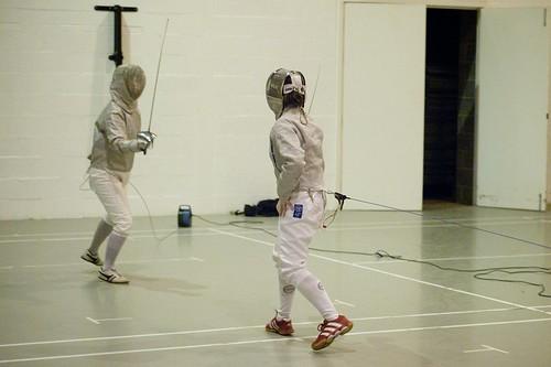 Fencing Vs. Northumbria - 2.12.09 - Photo: Jason Lozier