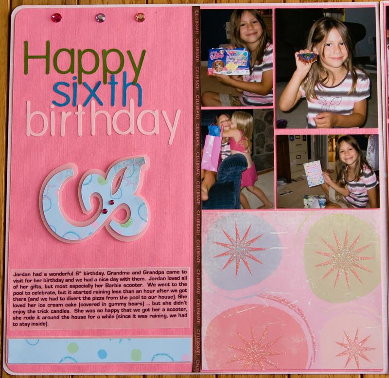 happy sixth birthday left