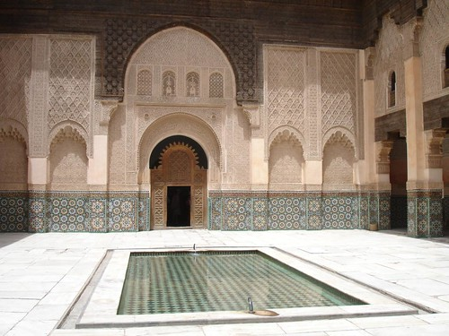 Photo de la Medersa Ben Youssef à Marrakech