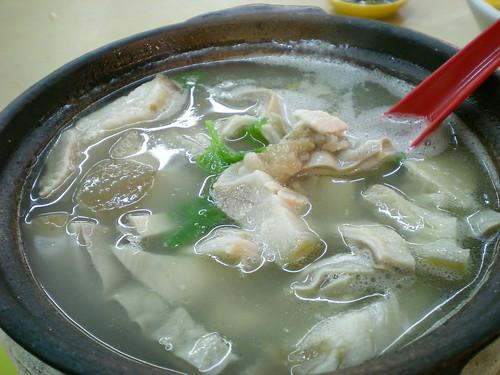 Damansara Uptown pork intestine soup