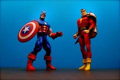 Captain America vs. Captain Marvel (42/365)
