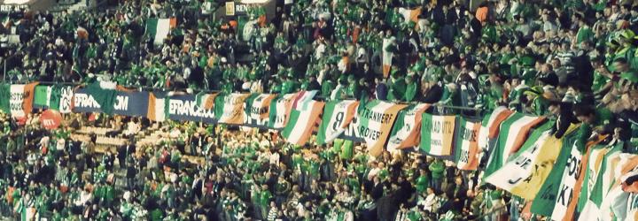 vintage irish fans