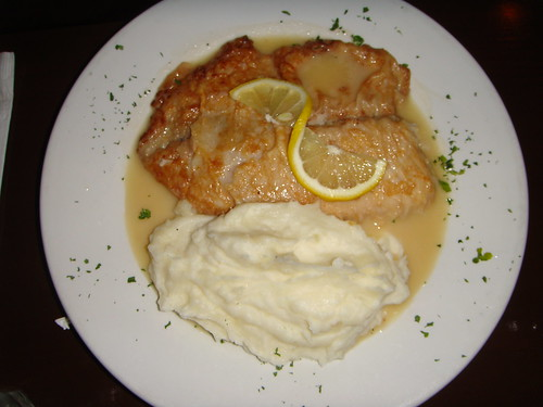 Time Cafe - Tilapia Francese with Mashed Potatoes