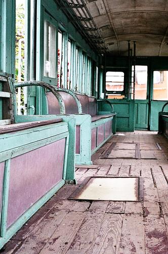 Old train in Houli