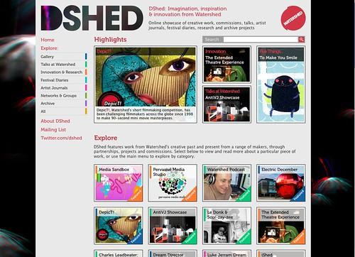dshed drupla based site built by rick hurst
