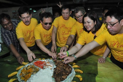 Bangon Pilipinas 2010 bets in boodle fight. Shot by Sun.Star