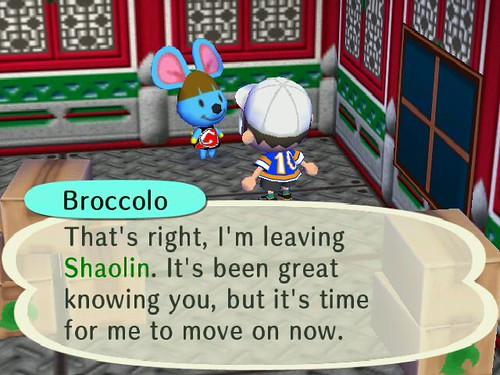 Bye Broccolo :(