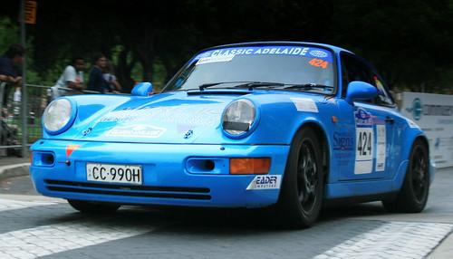 Blue Porsche, in Classic Adelaide