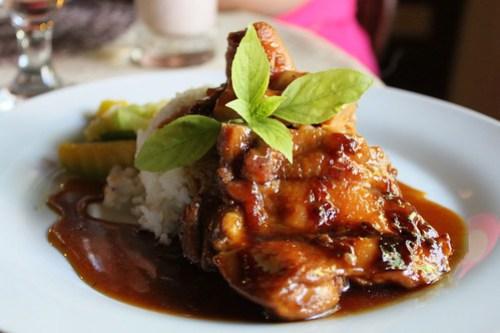 Roast Chicken at Balay Cena Una