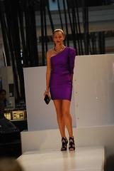 Purple off-shoulder dress - ck Calvin Klein
