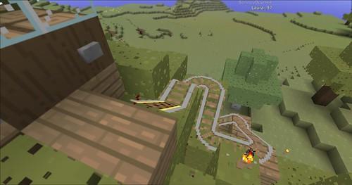 Minecraft - Rollercoaster 1