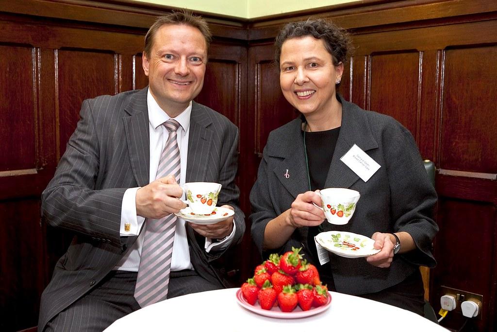 Breast Cancer Care's Strawberry Tea