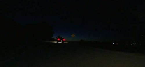Driving at night © CBS