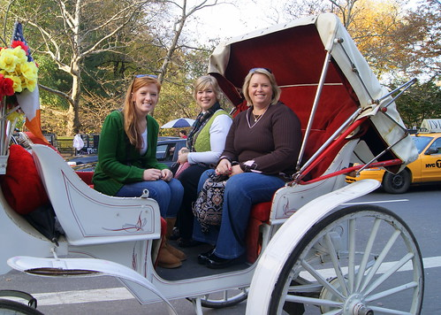 our carriage ride through Central Park was perfect!