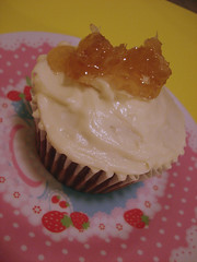 Honey Chai Cupcake