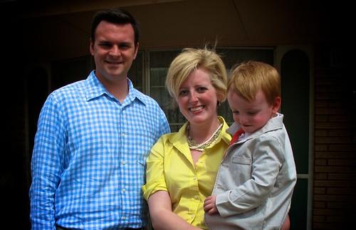 Simon, Rachel, & Jude. Easter 2010