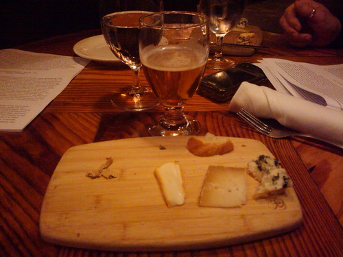 Appropriate: spending the evening after Easter at the BEST place to drink beer: Brick Store Pub's monthly Beer & Cheese Tasting: aka Lent is over & I haven't had beer for 46 days!