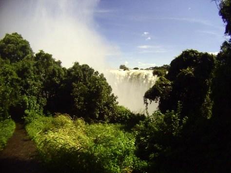 Victoria Falls trail
