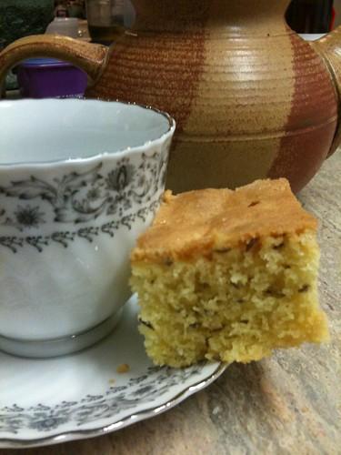 Tea and seed cake