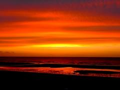 Crépuscule, mer et rêve  Gelinh
