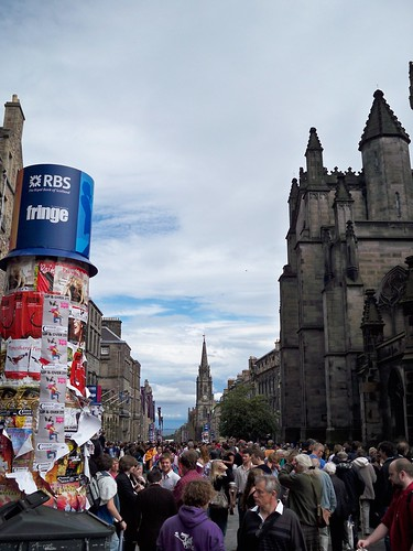 Royal Mile during the Festival
