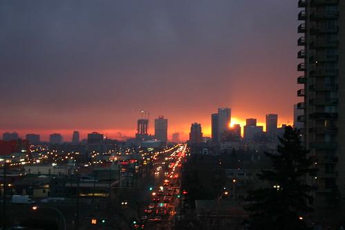 Edmonton Sunrise