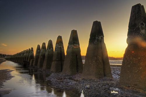 Submarine Defence Sunset