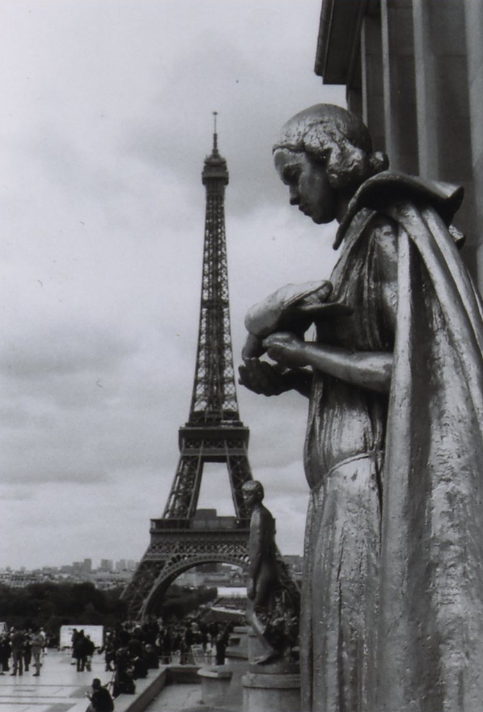 Quand le temps s'arrête : statue