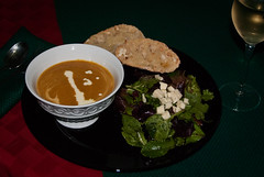 Winter Squash and Garlic Soup